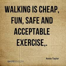 Quotes About Walking Classy Annie Taylor Quotes QuoteHD