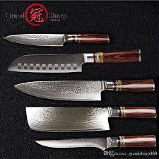 Acheter Grandsharp Couteau De Cuisine Set Couteaux De Chef