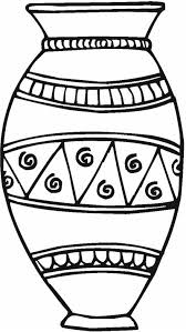 Small Picture Free Coloring Pages Vases Free Coloring Pages Of Flower Vase