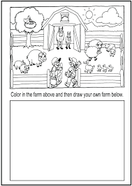 Zoo Worksheets Animals Read And Colour Best For First Grade