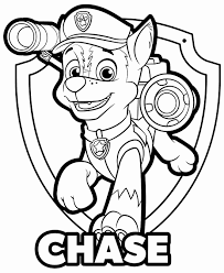 94 Paw Patrol Coloring Pages Chase Car Paw Patrol Coloring Pages