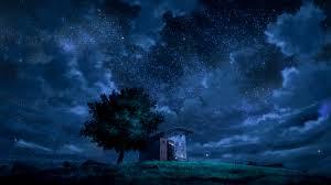 night anime scenery wallpaper. Wonderful Wallpaper Anime Scenery At Night Wallpaper Intended Wallpaper W