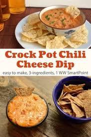 easy 3 ing crock pot chili cheese dip