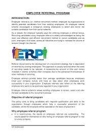 Employee Referral Program Pdf