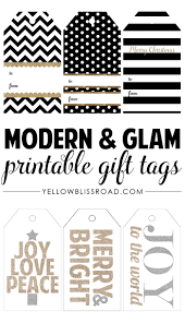 HAPPY Holidays: Modern Printable Gift Tag Set | Free printable ...