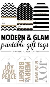 HAPPY Holidays: Modern Printable Gift Tag Set | Free printable ...