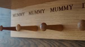 Coat Racks Uk personalisedwoodencoatracksukmakemesomethingspecialcouk 57
