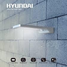 76 Korting Ultradunne Hyundai Led Solar Buitenlamp Met
