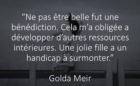 Citation De Golda Meir Sur Les Le Bonheur Femmes Et La Beauté