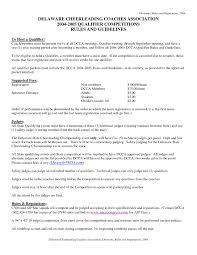 Cover Letter Sample For Resume Cheerleading Coach Cover Letter Sample Resume Cover Letter 69