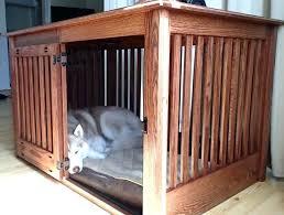 wooden dog crate furniture. Double Dog Crate Furniture Medium Size Of Astounding Photos Ideas Slant Door Wood Wooden D