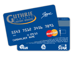 Guthrie Federal Credit Union Report A Lost Stolen Card