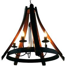 napa wine barrel chandelier engaging wine barrel chandelier wine barrel chandelier pottery barn