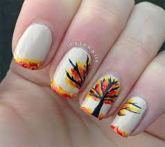 nail designs for fall 2014. 15-amazing-fall-autumn-nail-art-designs-ideas- nail designs for fall 2014