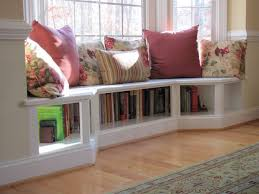 bay window seat. Fine Seat Angled Bench Seating In The Dining Room Creates A Unique Alcove Neat Idea  With Bookshelves Beneath Seat In Bay Window Seat U
