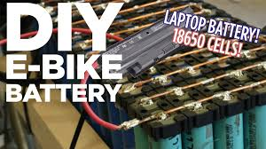diy lithium ion e bike battery pack from 18650 laptop batteries you