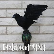 picture of maleficent costume staff