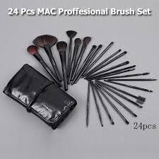 24 piece mac professional make up brush set