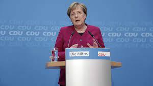 Angela Merkel steps down as CDU leader ...