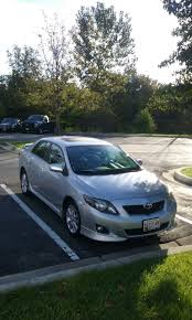 2009 Toyota Corolla S Sedan FWD- 110K Miles. Clean Title And ...