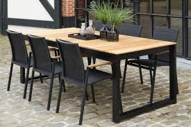 aluminum dining room chairs. Bermudafied Modern Teak White Black Aluminum Luxury Outdoor Furniture Design Dining Table Chairs Hotel Hospitality Patio Room I