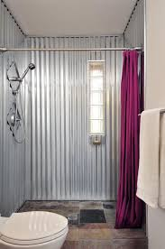 bright inspiration corrugated metal walls garage pictures in bathroom shower siding interior used
