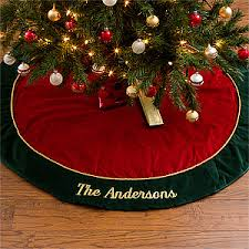 christmas tree blanket. Fine Tree Personalized Velvet Christmas Tree Skirt  12481 And Blanket