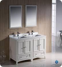 top 55 inch double sink vanity abersoch wall mounted regarding design 6