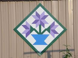 Best 25+ Barn quilt designs ideas on Pinterest | Barn quilt ... & flower barn quilt Adamdwight.com