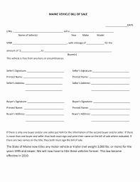 Bill Of Sale Form Unique Bill Sale - Document Template Designs