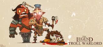 troll so op dota 2 troll warlord youtube