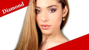 contouring a diamond face shape how to apply makeup on diamond face video tutorial