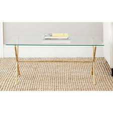 glass top accent table coffee table