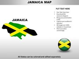 Country Powerpoint Maps Jamaica Powerpoint Templates