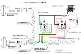 bosch alternator wiring diagram wirdig relay kits that can be added to the existing wiring harnesses