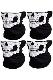 8PCS Skull Bandana <b>Cycling</b> Dust Protect <b>Mask Autumn Winter</b> ...