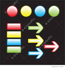 Templates Shiny Buttons Stock Illustration I1749129 At