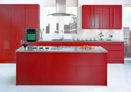 Red Kitchen Floor Awesome Red Kitchen Design Ideas Red Kitchen Red Kitchen Design