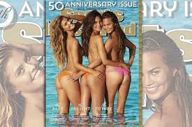 Meet the Sports Illustrated Swimsuit Cover Girls Chrissy Teigen.