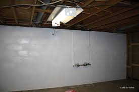 painting basement wallsShining How To Paint Basement Walls Part 1 Painting Our The