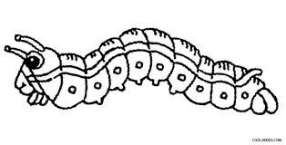Small Picture Caterpillar Animal Coloring Pages Hungry Caterpillar Coloring Page