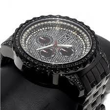 black diamond watch mens ace ii gx 2 9ct 48mm black pvd stainless