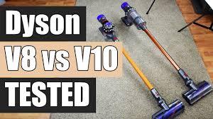 Dyson V10 Comparison Chart Dyson V8 Vs Dyson V10 Detailed Tests And Comparison