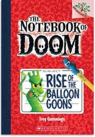 the notebook of doom the notebook of doom rise of the balloon goons