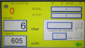 Resultado de imagen de maquina limpieza filtro particulas
