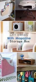 diy decorated storage boxes. DIY Ideas With Magazine Storage Box Diy Decorated Boxes