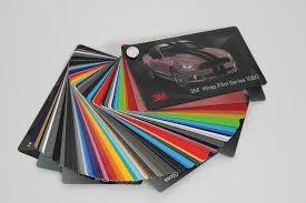 3m Wrap Film Series 1080 Swatch Sample Book
