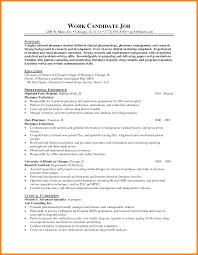 12 Pharmacist Resume Templates Address Example