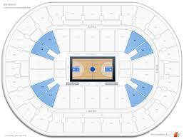 bok center lower level corner seating chart