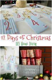 12 days of christmas diy home decor